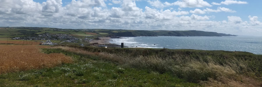 Cycling on the Cornish Way Cycle Route near Bude - Bude Cycling Accommodation