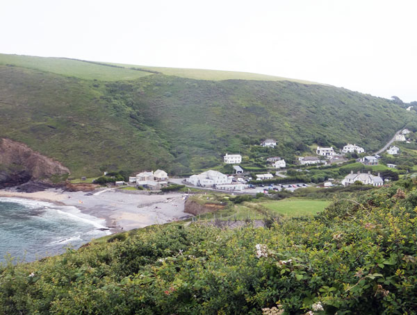 Bude is surrounded by picturesque seaside villages like Crackington Haven. An easy drive if you're staying in Bude.