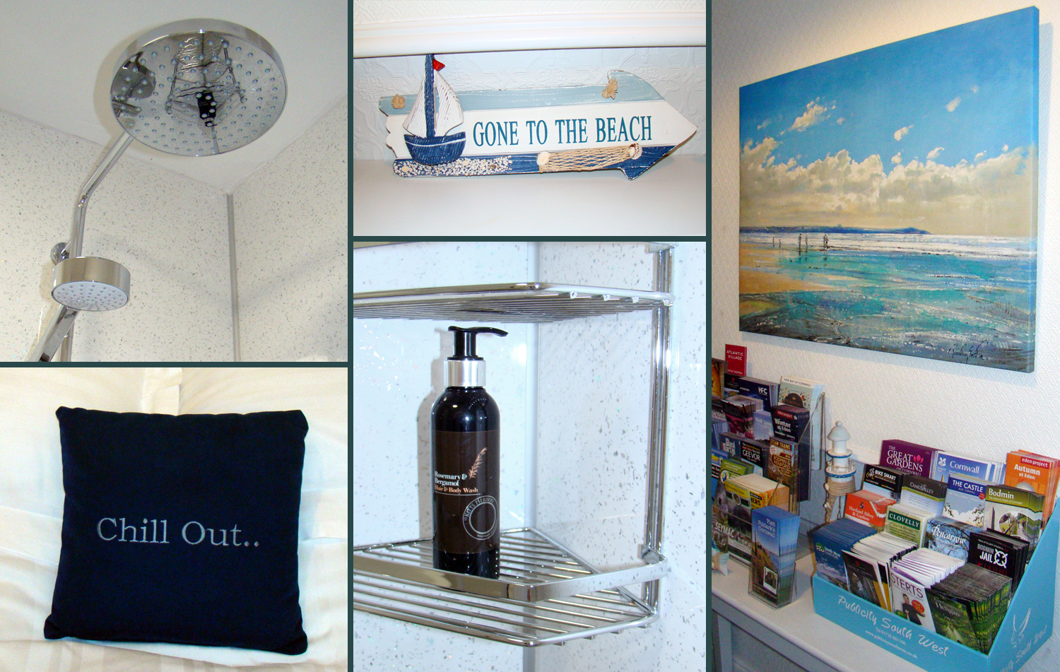 A selection of shots taken around Surf Haven Bed & Breakfast in Bude