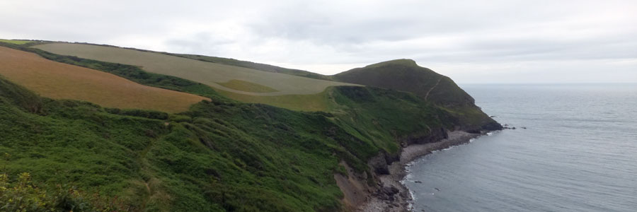 Walking the South West Coast Path from Bude to Crackington Haven - Bude South West Coast Path accommodation