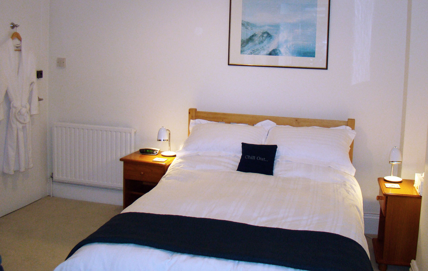 The Standard Double Room at Surf Haven Bed & Breakfast, Bude, Cornwall