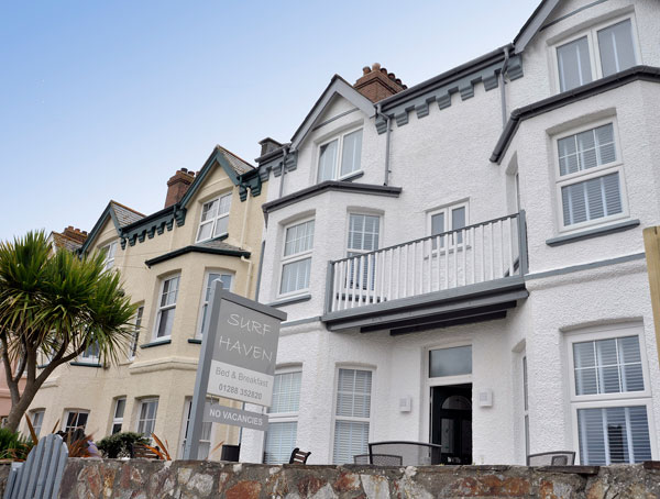 Surf Haven Bed & Breakfast in Bude - Exclusively For Adults & Over 16s