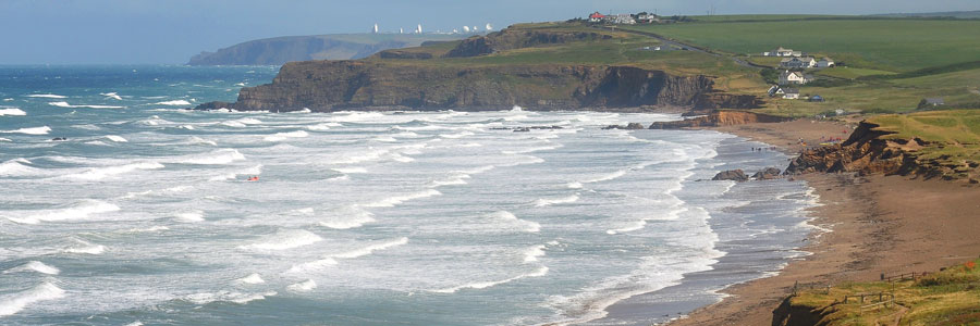 Surfing Accommodation in Bude - Widemouth Bay