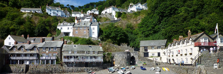 Clovelly village - an attraction near Bude