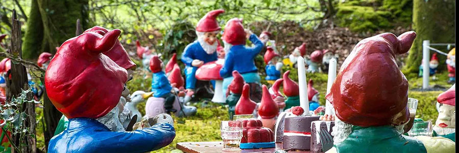 The Gnome Reserve is an attraction near Bude
